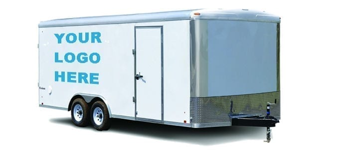 Interested in becoming a Service Provider? Learn how to put your logo on this trailer.