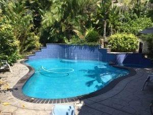 Lowering CYA in Pools